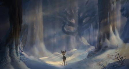 bambi, film d'animation de walt disney