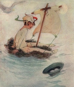 peter pan, margaret lucie attwell, d'après james matthew barrie